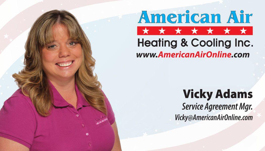 American Air Heating & Cooling   Vicky Adams
