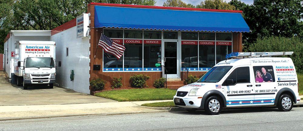 American Air Heating & Cooling | Building and van